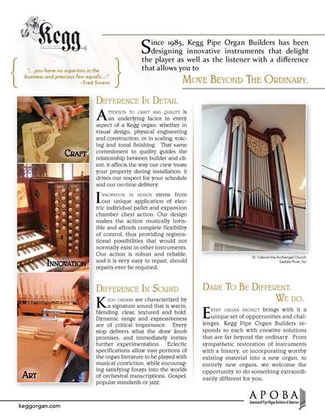 Kegg Pipe Organ Builders Associated Pipe Organ Builders