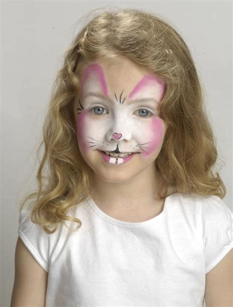 easter bunny face paint rabbit face paint   teeth