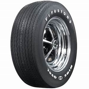firestone wide oval rwl f60 15 coker tire With 13 white letter tires