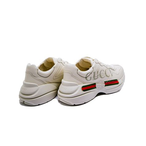 Gucci pays homage to the new york yankees in latest rhyton sneakers: Gucci Rhyton Sneaker White   Derodeloper.com