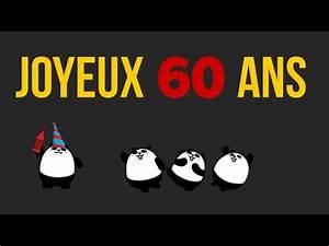 Faire Part Anniversaire 60 Ans : joyeux anniversaire 60 ans humoristique youtube ~ Melissatoandfro.com Idées de Décoration