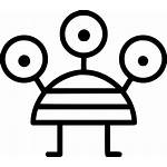 Monster Svg Three Eyed Icon Onlinewebfonts