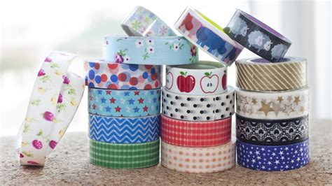 how to decorate with washi 60 things you can decorate with washi