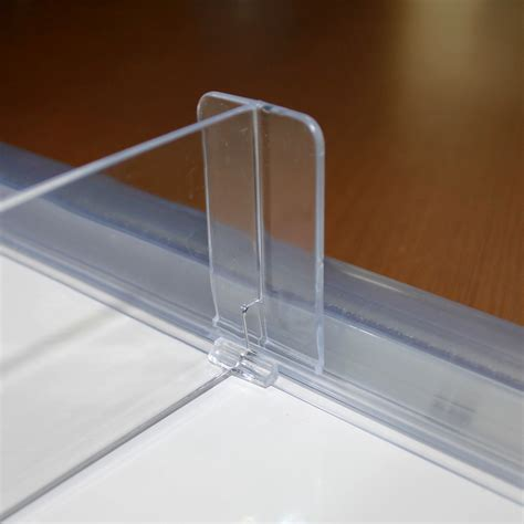 clear shelf dividers quality transparent acrylic supermarket shelf divider