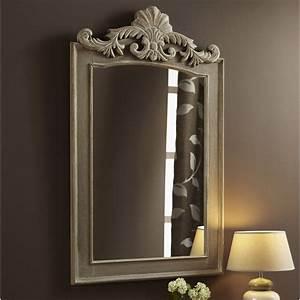 Miroir À Coller Leroy Merlin : miroir lanwood trumeau beige x cm leroy merlin ~ Melissatoandfro.com Idées de Décoration