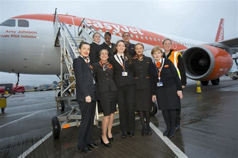easyjet celebrates female pilot record  international