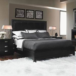 top master bedroom decorating ideas with dark furniture With bedroom furniture decorating ideas 2