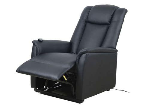 canapé electrique cuir fauteuil de relaxation et releveur électrique max coloris