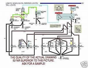 Sell 1969 69 Camaro Full Color Wiring Diagrams With