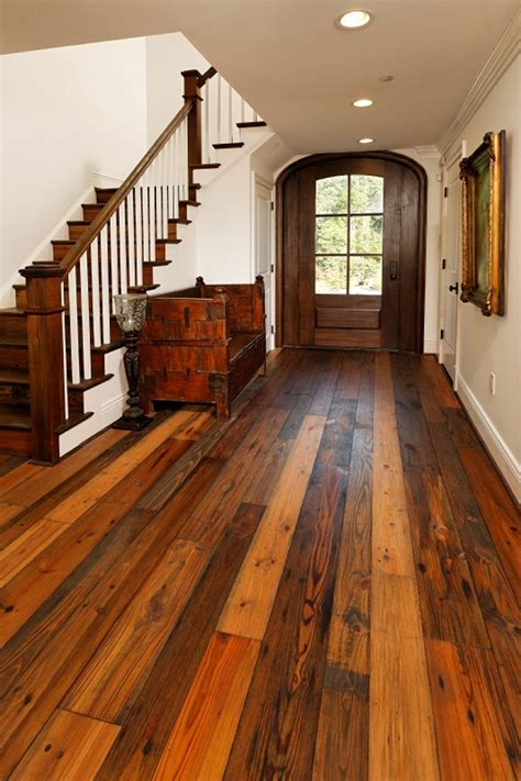 flooring for kitchens best 25 reclaimed wood floors ideas on 7072