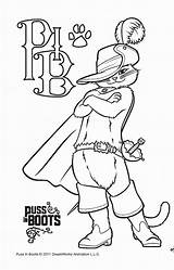 Puss Boots Coloring Pages Drawing Getdrawings Popular Coloring2print sketch template