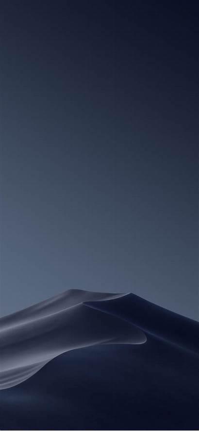 Dark Mode Iphone Mojave Ios Wallpapers Fond