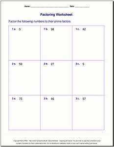 Worksheet On Factors - The Best and Most Comprehensive ...