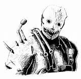 Trapper Fan Deadbydaylight Fanart Comments Reddit sketch template