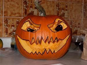 Visage Citrouille Halloween : l 39 halloween et la citrouille herbes et vie ~ Nature-et-papiers.com Idées de Décoration