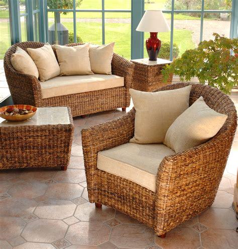 Cane Conservatory Furniture Banana Leaf Furniture Cane
