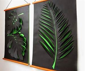 Wand Mit Bildern Gestalten : kreative wandgestaltung mit deko aus papier freshouse ~ Markanthonyermac.com Haus und Dekorationen