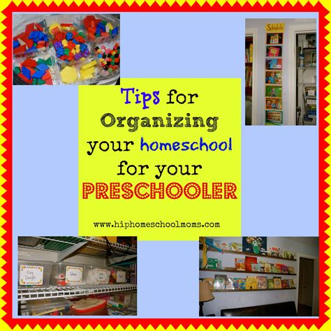 10 tips for organizing your homeschool room for 527 | preschoolclassroom pinnable