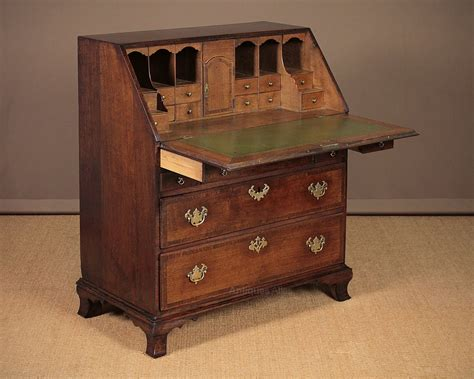 oak writing bureau uk georgian oak writing bureau c 1800 antiques atlas