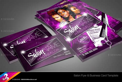 Salon Flyer And Business Card Templates By Business Card Yes I Am Tall Indonesia Layout Ideas Binder Rolodex Joint Filter Emoji Display