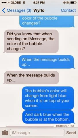 imessage template ihelp imessage change color in ios 7