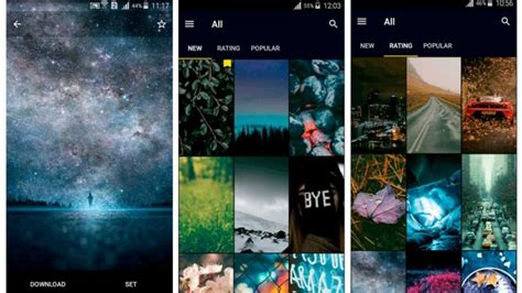 die besten wallpaper fuer android bilder screenshots