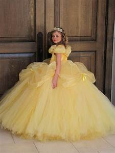 Disney belle costume belle dress beauty and the beast dress for Belle petite robe