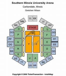 Siu Arena Tickets And Siu Arena Seating Charts 2018 Siu