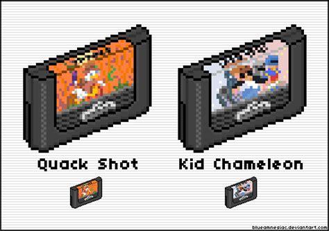 Quack Shot + Kid Chameleon Cart Icons [50x50] By