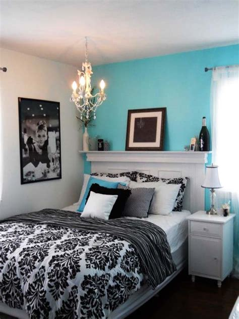 bedroom  fresh  cozy tiffany blue bedroom ideas
