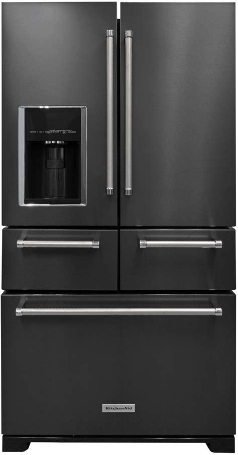 kitchen aid refrigerator kitchenaid krmf706ebs refrigerator review reviewed