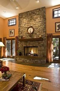 26, Awesome, Traditional, Stone, Fireplace, Decorating, Ideas, You, Can, Copy, Decoratingideas