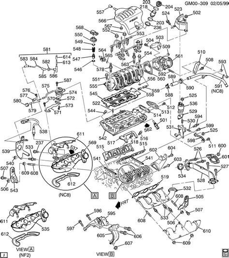 2002 Pontiac 3 4 Engine Cooling Diagram by 2002 Pontiac 3800 Series 2 Engine Diagram Wiring Diagram Ops