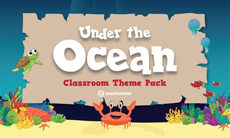 ocean classroom theme pack teaching resource