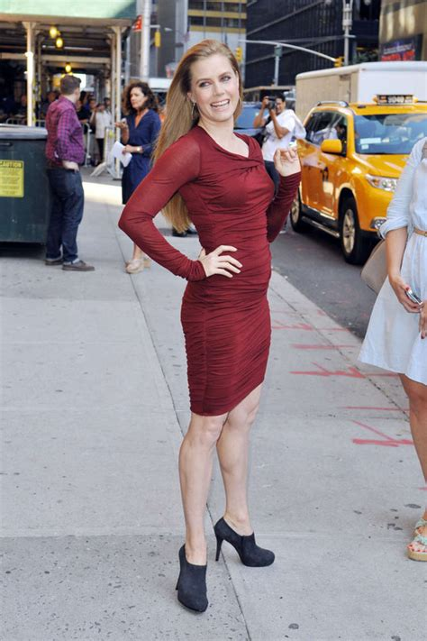 tight tiny amy adams leggy in tight small dress 11 gotceleb