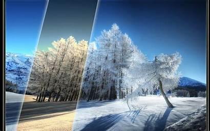 Winter Scenery Desktop Hatterkepek Iarna Wallpapers Peisaje