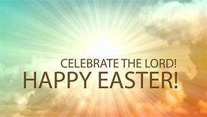 easter christian motive text celebrate stock footage