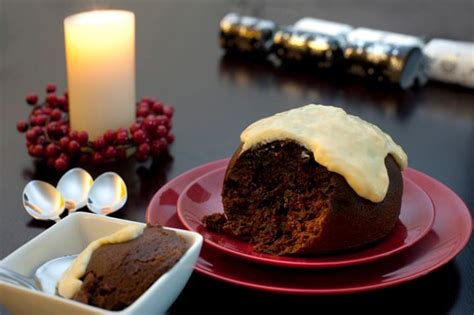 photo  delicious fruity christmas pudding