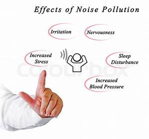 Effects of Noise Pollution | Stock Photo | Colourbox