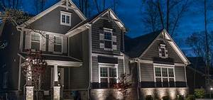 Lighting large two story homes sidera? landscape