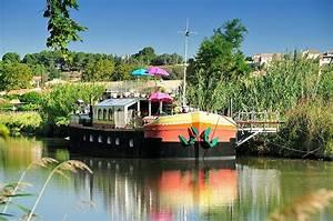 chambres d hotes insolites et romantique sur le canal du With chambre d hote villeneuve les beziers