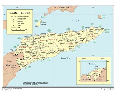maps  east timor collection  maps  east timor
