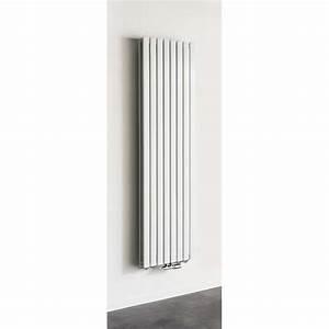 Radiateur Largeur 50 Cm : radiateurs d coratifs banio xandra couleur blanc hauteur ~ Premium-room.com Idées de Décoration