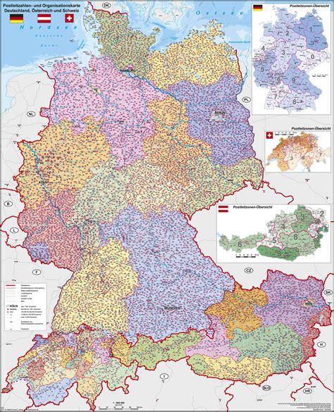 schweiz postleitzahlenkarte   cm westeuropa