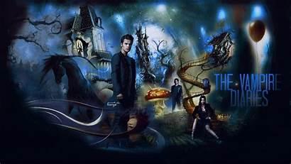Vampire Diaries Wallpapers Desktop Backgrounds Deviantart Season