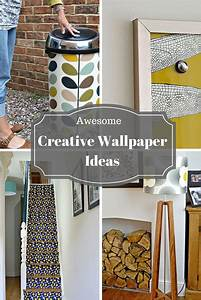 Awesome Creative Wallpaper Ideas   Diy home decor projects ...