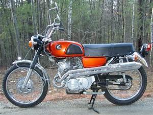 Honda Cb125 Cb175 Cl125 Cl175 1967