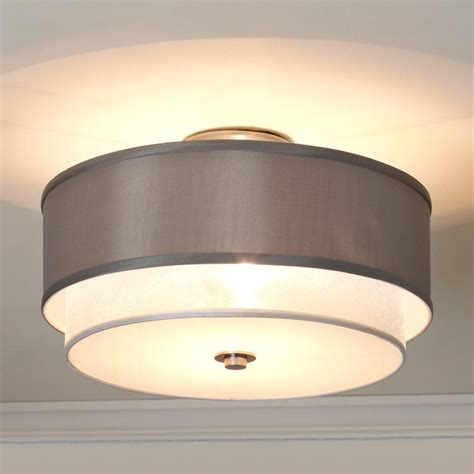 Cieling Lights by Silver Sheer Shade Ceiling Light Brand Spankin