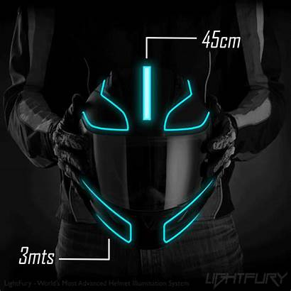 Helmet Tron Lightfury Kit V2 Mod Colors