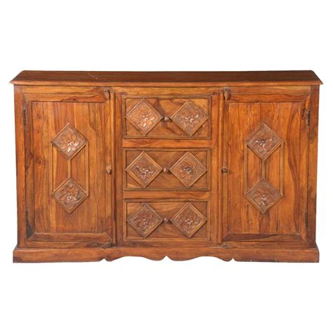 Unfinished Wood Sideboard by Solid Wood 3 Drawer Sideboard